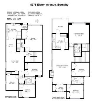 Photo 3: 5378 ELSOM Avenue in Burnaby: Forest Glen BS 1/2 Duplex for sale (Burnaby South)  : MLS®# R2539917