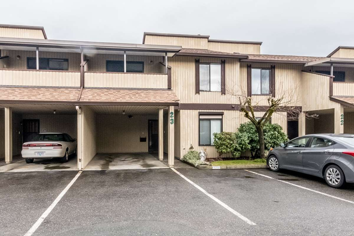 """Main Photo: 23 2962 NELSON Street in Abbotsford: Central Abbotsford Townhouse for sale in """"Willband Creek Estates"""" : MLS®# R2146171"""