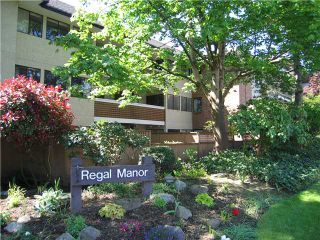 "Photo 1: 314 316 CEDAR Street in New Westminster: Sapperton Condo for sale in ""REGAL MANOR/SAPPERTON"" : MLS®# V954715"