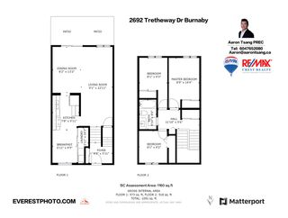 Photo 38: 2692 TRETHEWAY DRIVE in Burnaby: Montecito Townhouse for sale (Burnaby North)  : MLS®# R2540026