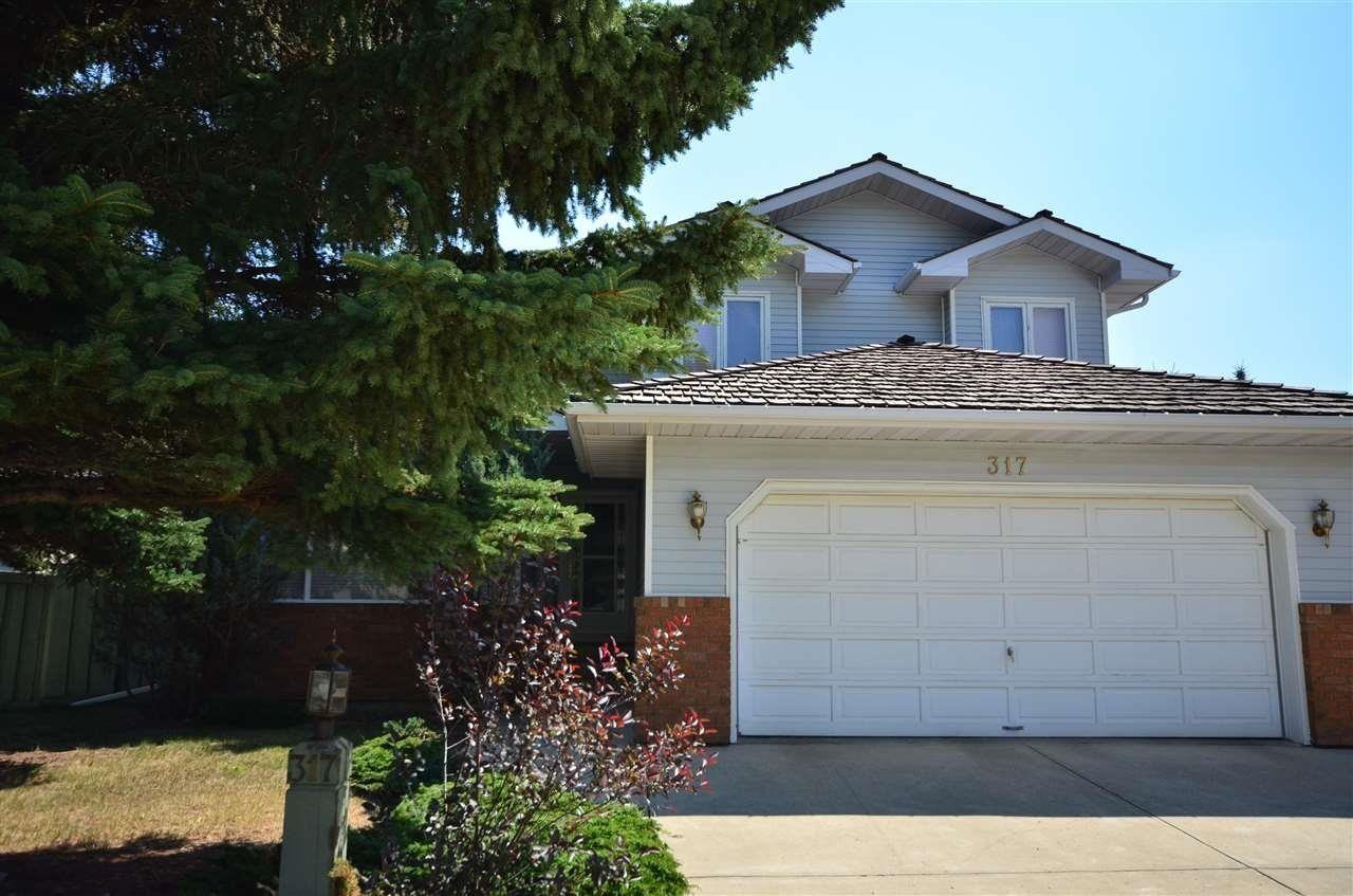 Main Photo: 317 WEBER Way in Edmonton: Zone 20 House for sale : MLS®# E4259256