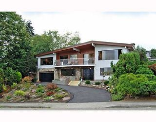 """Photo 1: 9140 WILBERFORCE Street in Burnaby: The Crest House for sale in """"THE CREST"""" (Burnaby East)  : MLS®# V790163"""