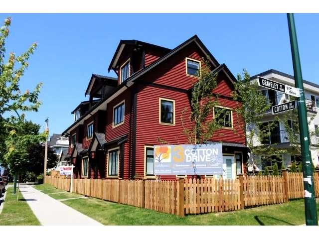 Main Photo: 1590 COTTON DR in Vancouver: Grandview VE Condo for sale (Vancouver East)  : MLS®# V1019207