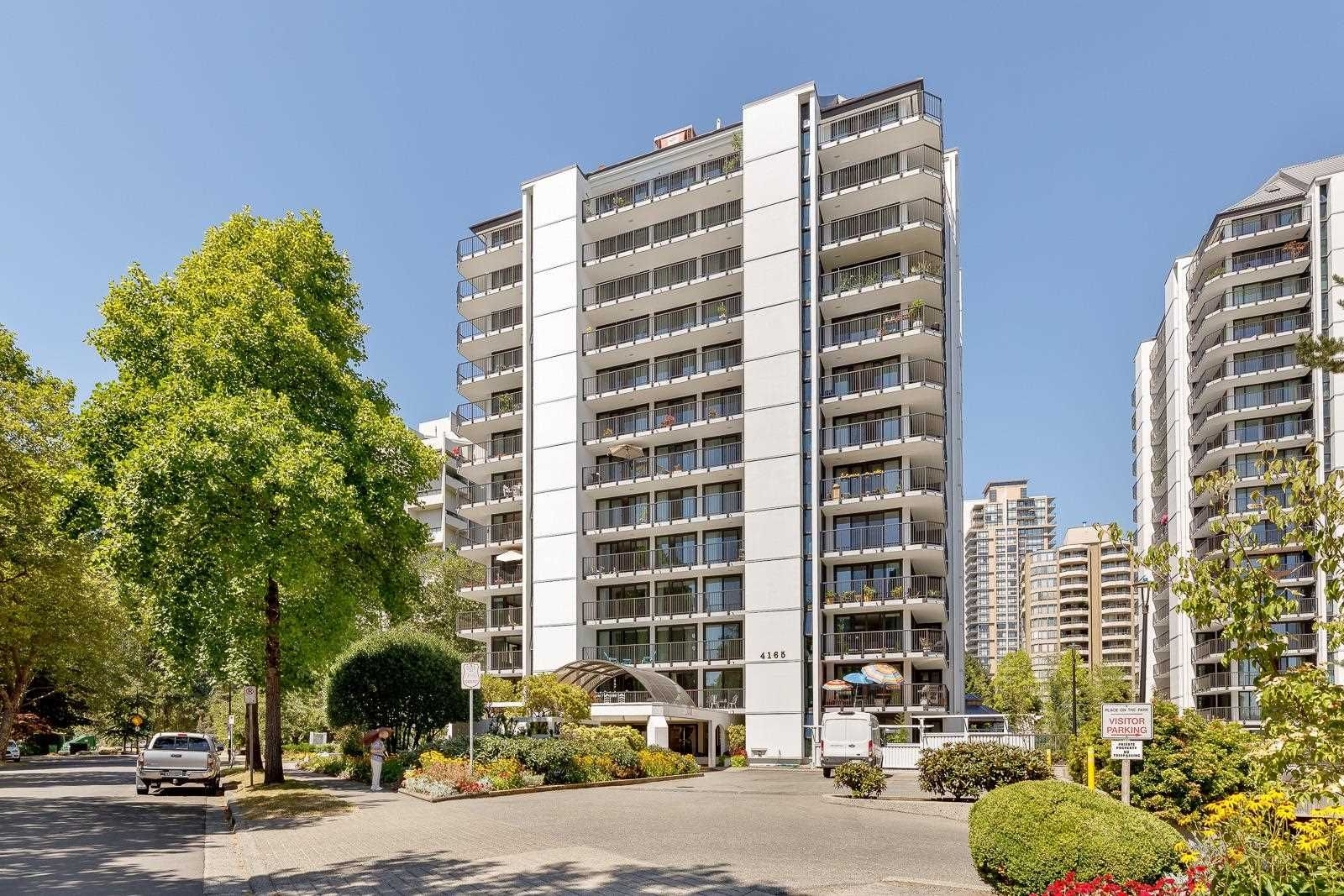 Main Photo: 1401 4165 MAYWOOD Street in Burnaby: Metrotown Condo for sale (Burnaby South)  : MLS®# R2606589