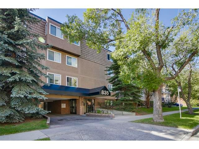 Main Photo: 835 19 AV SW in Calgary: Lower Mount Royal Condo for sale : MLS®# C4032189