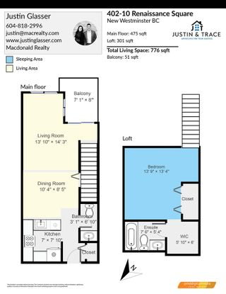 """Photo 30: 402 10 RENAISSANCE Square in New Westminster: Quay Condo for sale in """"MURANO LOFTS"""" : MLS®# R2591537"""
