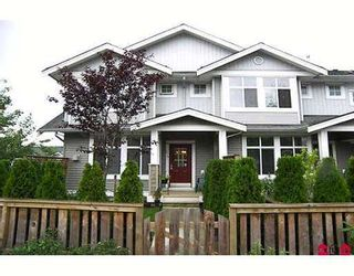 """Photo 1: 64 20449 66TH Avenue in Langley: Willoughby Heights Townhouse for sale in """"NATURES LANDING"""" : MLS®# F2724203"""
