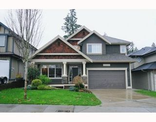 """Photo 1: 24227 MCCLURE Drive in Maple Ridge: Albion House for sale in """"MAPLE CREST"""" : MLS®# V798232"""