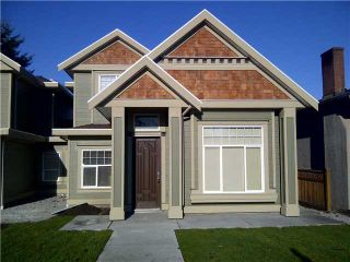 Photo 1: 6721 BRYANT Street in Burnaby: Upper Deer Lake 1/2 Duplex for sale (Burnaby South)  : MLS®# V934759