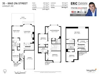 """Photo 36: 35 8863 216 Street in Langley: Walnut Grove Townhouse for sale in """"Emerald Estates"""" : MLS®# R2525536"""