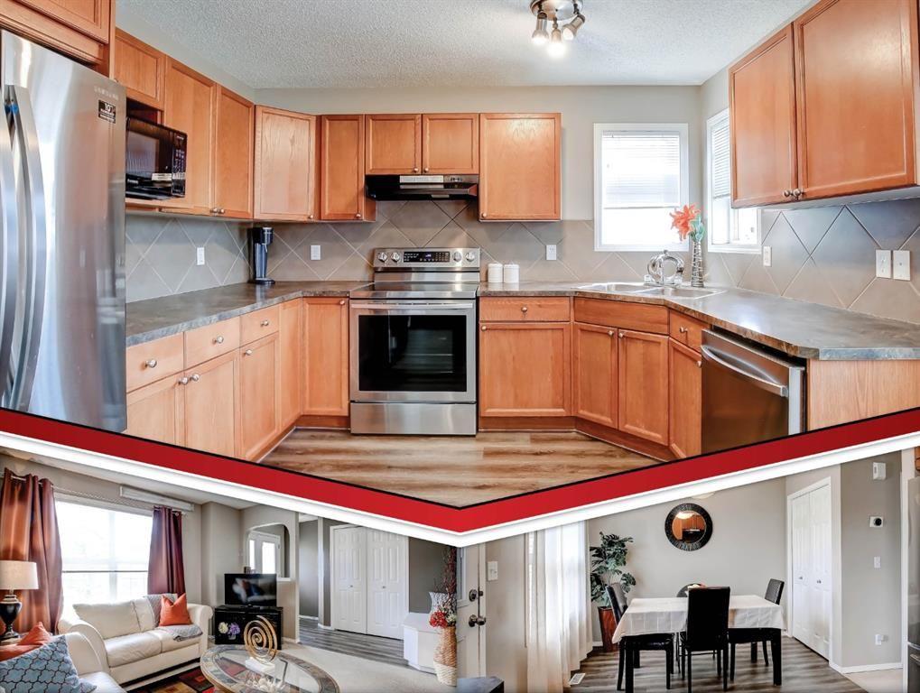 Main Photo: 27 Saddlebrook Place NE in Calgary: Saddle Ridge Semi Detached for sale : MLS®# A1122360