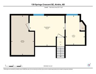 Photo 36: 139 Springs Crescent SE: Airdrie Detached for sale : MLS®# A1065825