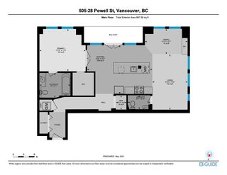 """Photo 22: 505 28 POWELL Street in Vancouver: Downtown VE Condo for sale in """"POWELL LANE"""" (Vancouver East)  : MLS®# R2577298"""