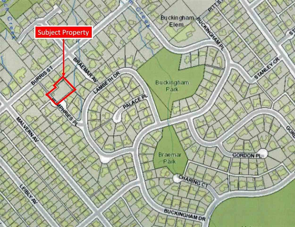 """Main Photo: 6000 HUMPHRIES Place in Burnaby: Buckingham Heights Land for sale in """"Buckingham Heights"""" (Burnaby South)  : MLS®# R2445218"""