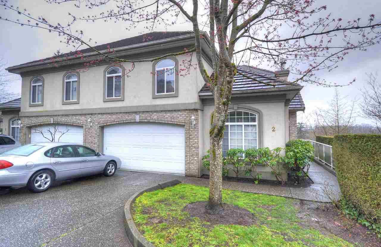 """Main Photo: 2 915 FORT FRASER Rise in Port Coquitlam: Citadel PQ Townhouse for sale in """"BRITTANY PLACE"""" : MLS®# R2250800"""