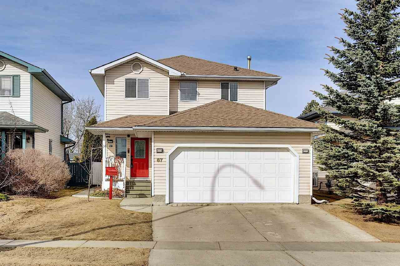 Main Photo: 67 HAWTHORNE Crescent: St. Albert House for sale : MLS®# E4236030