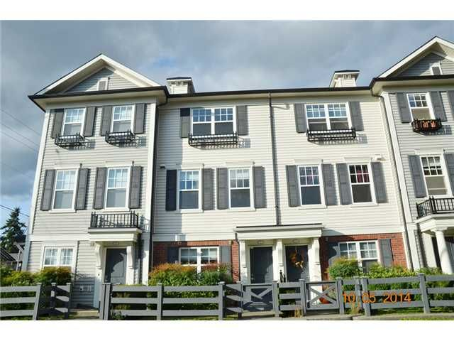 "Main Photo: 2 2495 DAVIES Avenue in Port Coquitlam: Central Pt Coquitlam Townhouse for sale in ""ARBOUR"" : MLS®# V1087204"