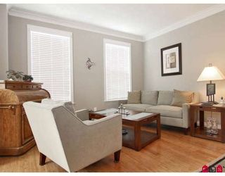 """Photo 3: 6918 179A Street in Surrey: Cloverdale BC Townhouse for sale in """"THE TERRACES AT PROVINCETON"""" (Cloverdale)  : MLS®# F2829713"""