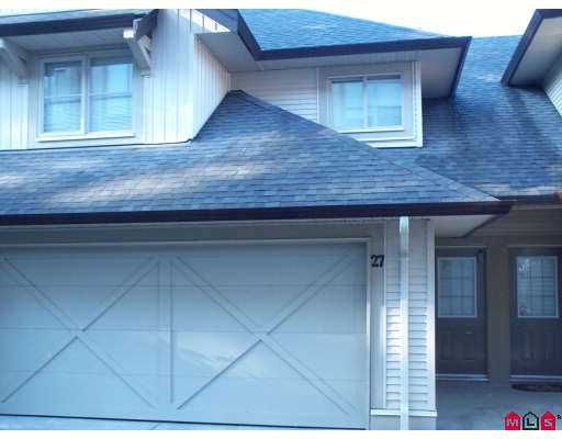 """Main Photo: 20350 68TH Ave in Langley: Willoughby Heights Townhouse for sale in """"SUNRIDGE"""" : MLS®# F2622048"""