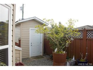 Photo 20: 41 7570 Tetayut Rd in SAANICHTON: CS Hawthorne Manufactured Home for sale (Central Saanich)  : MLS®# 707595