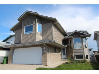Photo 1: 14 EMPRESS Place SE: Airdrie House for sale : MLS®# C4022875