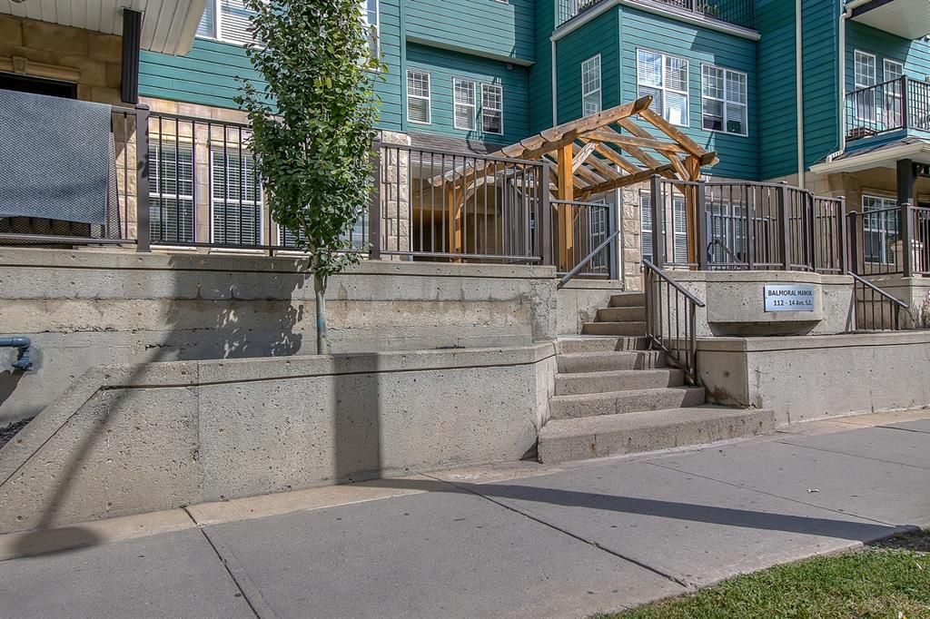 Main Photo: 102 112 14 Avenue SE in Calgary: Beltline Apartment for sale : MLS®# A1024157