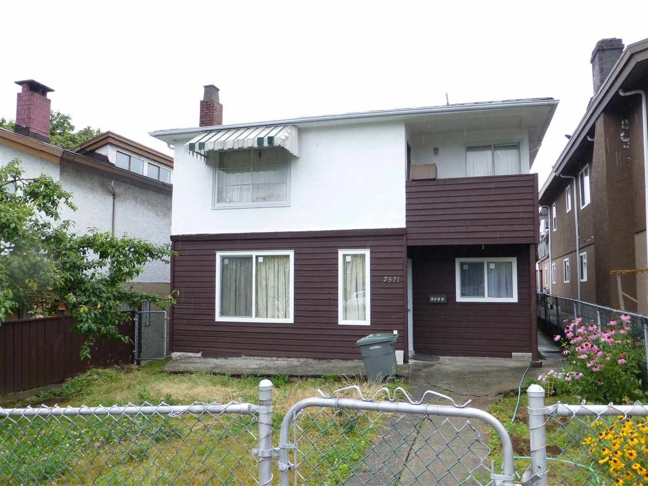 Main Photo: 2571 RENFREW Street in Vancouver: Renfrew VE House for sale (Vancouver East)  : MLS®# R2085901