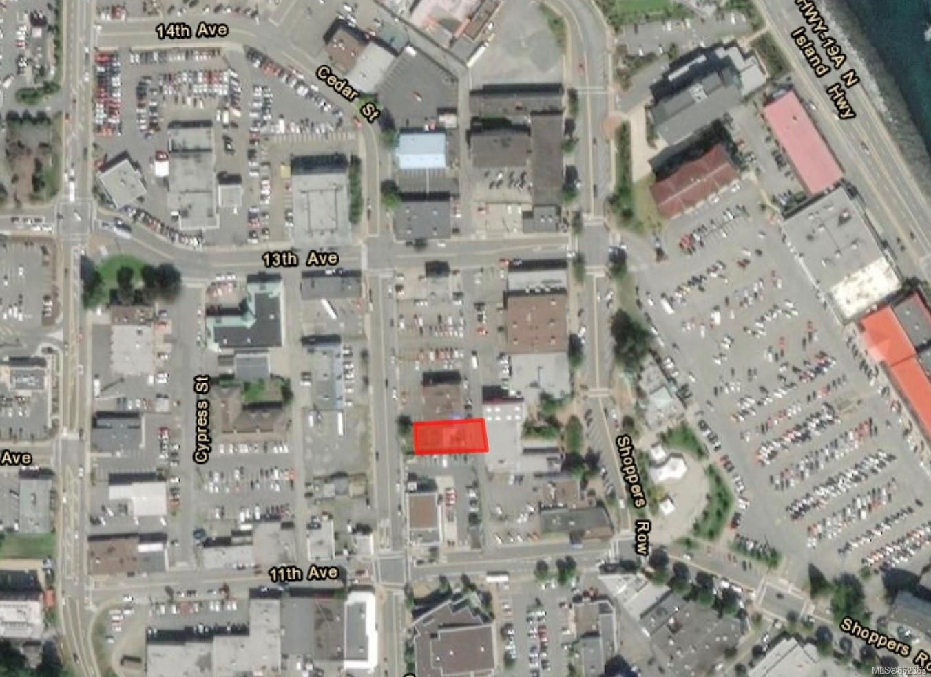 Main Photo: 1201 Cedar St in : CR Campbell River Central Unimproved Land for sale (Campbell River)  : MLS®# 862363