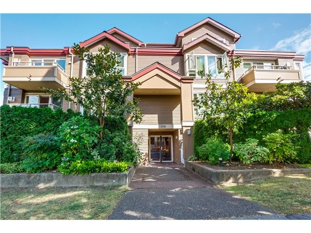 Main Photo: 202 3218 ONTARIO Street in Vancouver: Main Condo for sale (Vancouver East)  : MLS®# V1084215