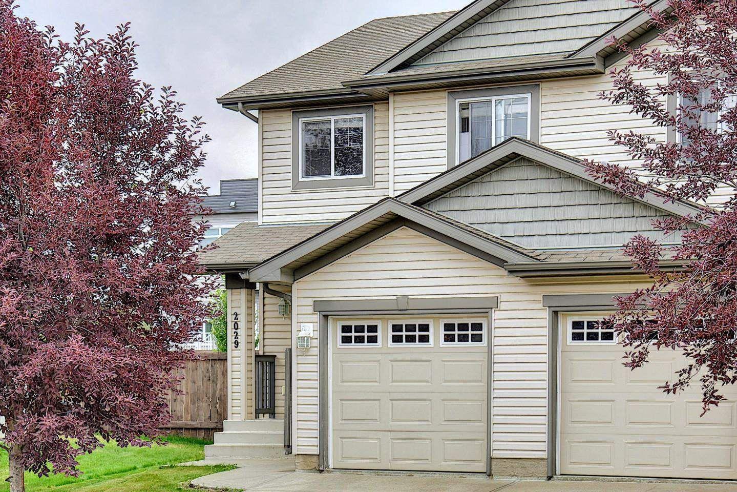 Main Photo: 2029 HAMMOND Close in Edmonton: Zone 58 House Half Duplex for sale : MLS®# E4256255