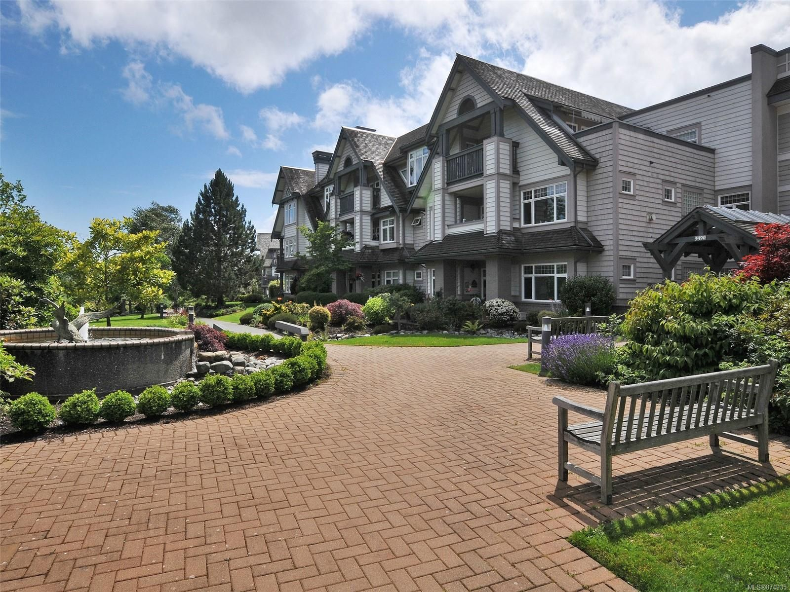 Main Photo: 334 4490 Chatterton Way in : SE Broadmead Condo for sale (Saanich East)  : MLS®# 874935
