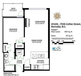 """Photo 18: 1408 7108 COLLIER Street in Burnaby: Highgate Condo for sale in """"ARCADIA WEST"""" (Burnaby South)  : MLS®# R2144711"""