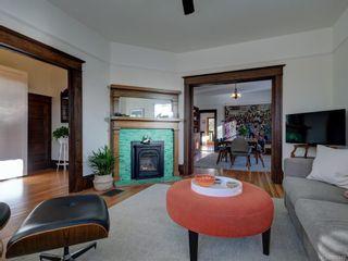 Photo 4: 625 Harbinger Ave in Victoria: Vi Fairfield West Full Duplex for sale : MLS®# 860340