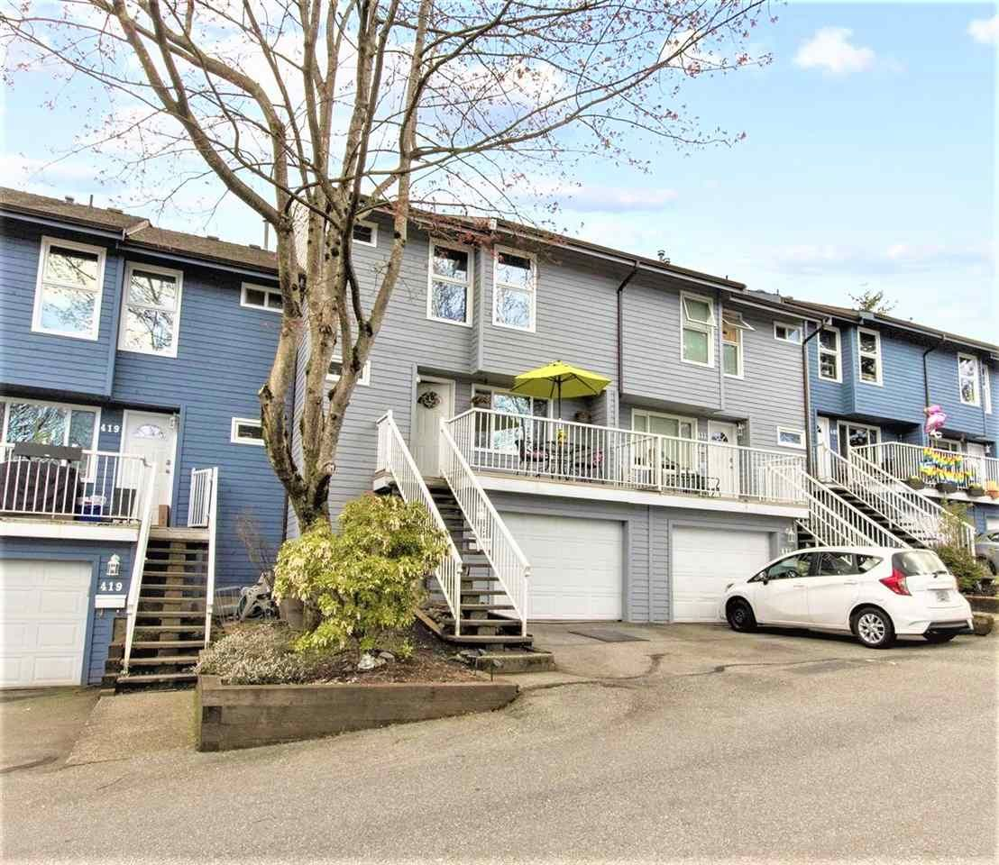 Main Photo: 415 LEHMAN Place in Port Moody: North Shore Pt Moody Townhouse for sale : MLS®# R2565469
