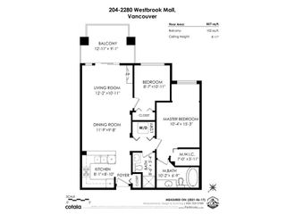 """Photo 27: 204 2280 WESBROOK Mall in Vancouver: University VW Condo for sale in """"KEATS HALL"""" (Vancouver West)  : MLS®# R2594551"""