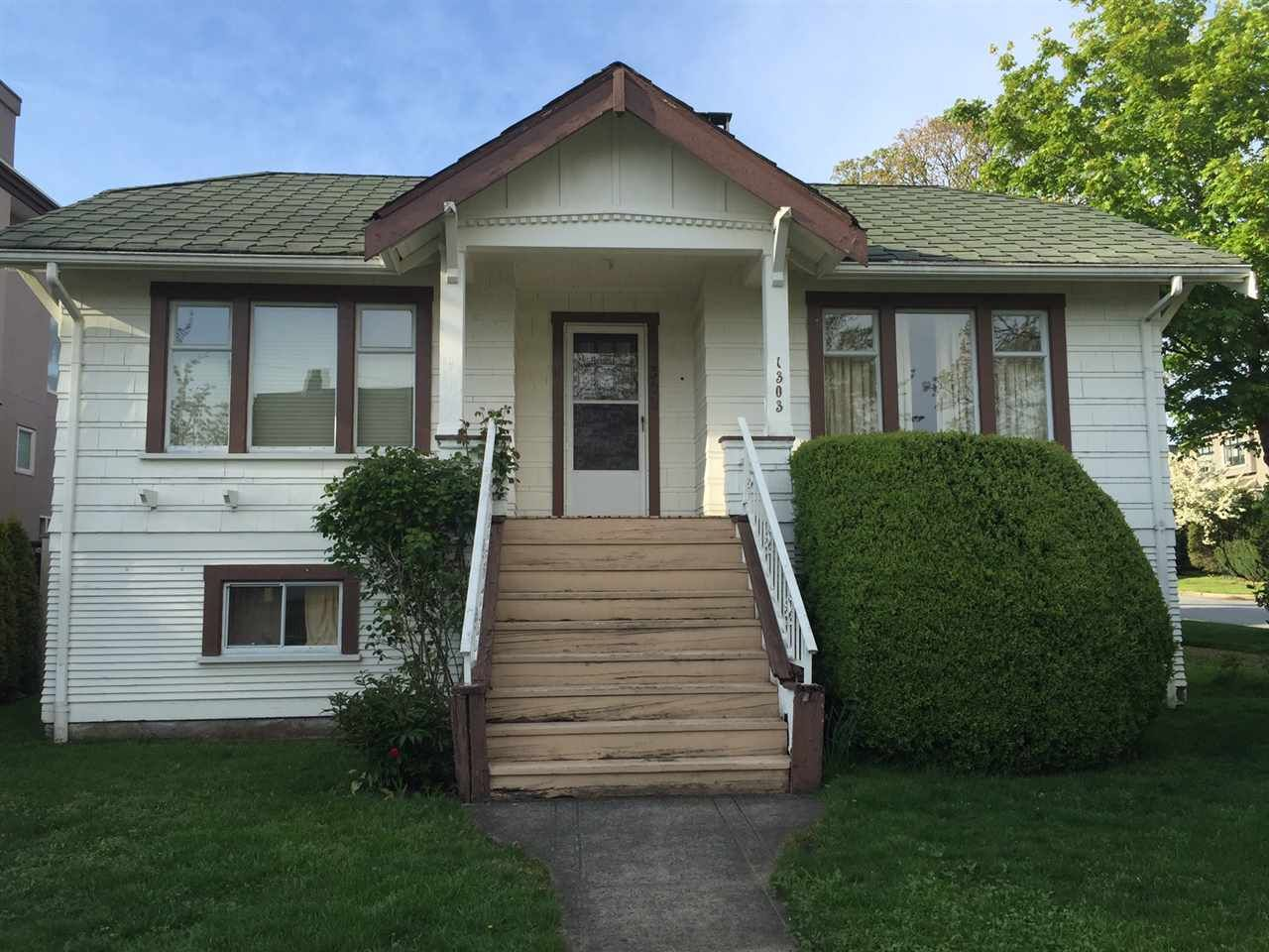 Main Photo: 1303 PARK DRIVE in Vancouver: Marpole House for sale (Vancouver West)  : MLS®# R2057840