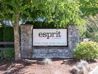 "Photo 1: 310 19320 65 Avenue in Surrey: Clayton Condo for sale in ""esprit"" (Cloverdale)  : MLS®# R2401302"