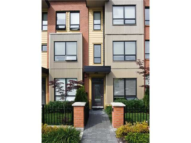 """Main Photo: 1871 STAINSBURY Avenue in Vancouver: Victoria VE Townhouse for sale in """"THE WORKS"""" (Vancouver East)  : MLS®# V834837"""