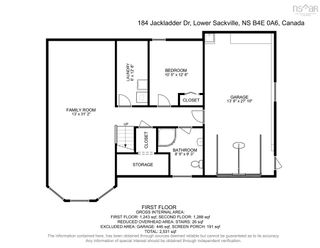 Photo 25: 184 Jackladder Drive in Middle Sackville: 25-Sackville Residential for sale (Halifax-Dartmouth)  : MLS®# 202125825