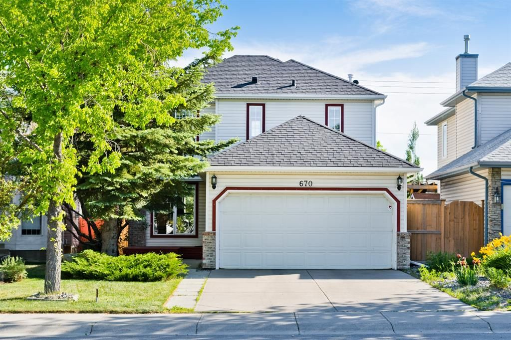 Main Photo: 670 Harvest Hills Drive NE in Calgary: Harvest Hills Detached for sale : MLS®# A1119605