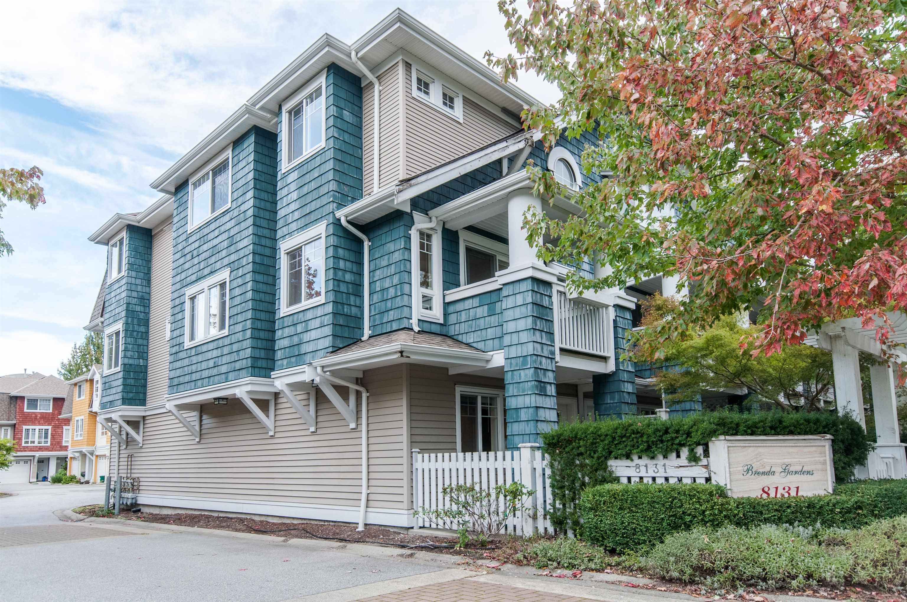 """Main Photo: 1 8131 GENERAL CURRIE Road in Richmond: Brighouse South Townhouse for sale in """"BRENDA GARDENS"""" : MLS®# R2625260"""