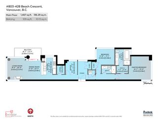 Photo 20: 803 428 BEACH Crescent in Vancouver: Yaletown Condo for sale (Vancouver West)  : MLS®# R2072146