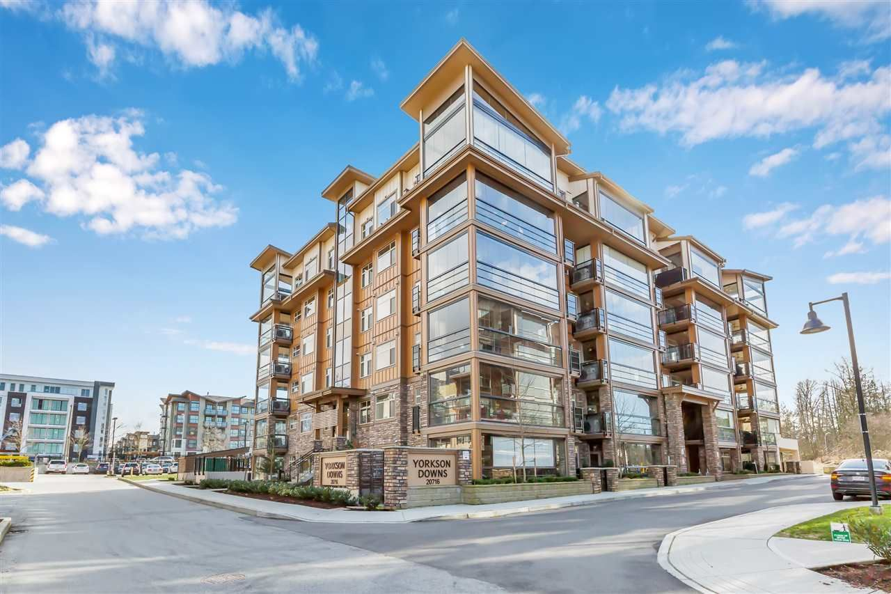 "Main Photo: B522 20716 WILLOUGHBY TOWN CENTRE Drive in Langley: Willoughby Heights Condo for sale in ""Yorkson Downs"" : MLS®# R2540598"