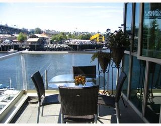 """Photo 2: 306 1600 HORNBY Street in Vancouver: False Creek North Condo for sale in """"YACHT HARBOUR POINTE"""" (Vancouver West)  : MLS®# V727890"""