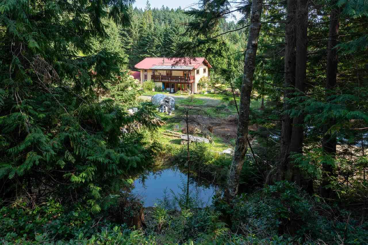Beautiful and tranquil with forested areas and ponds.