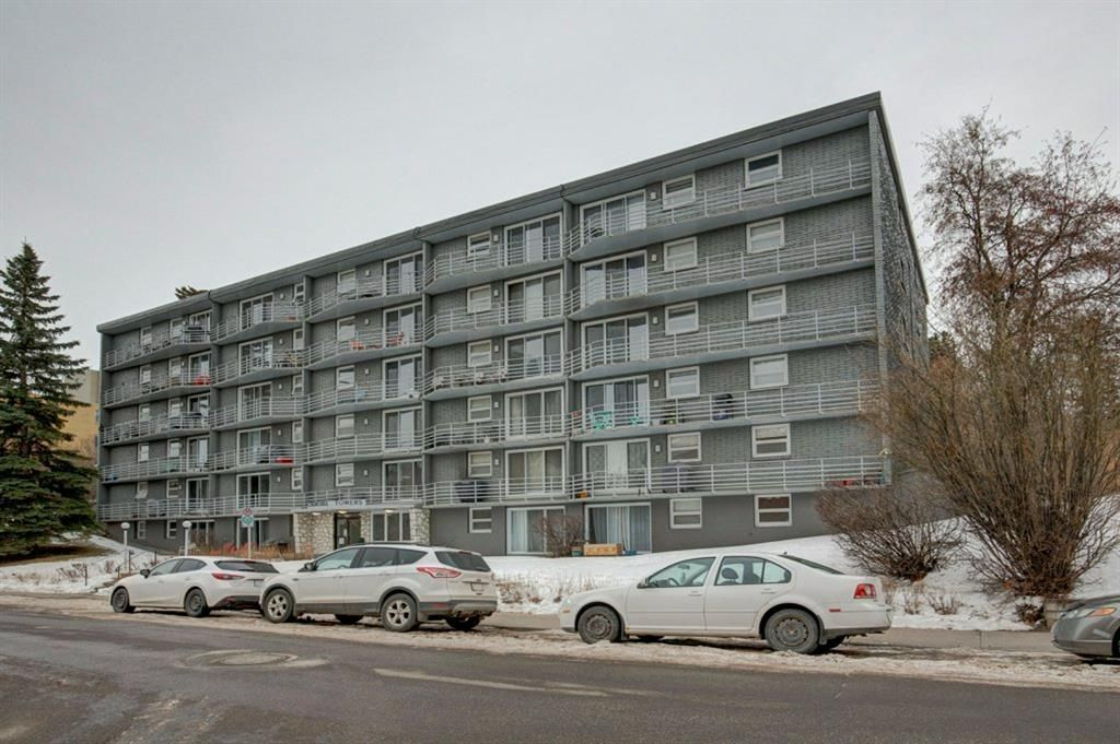 Main Photo: 101 1027 Cameron Avenue SW in Calgary: Lower Mount Royal Apartment for sale : MLS®# A1062021