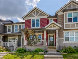 Photo 1: 68 Sunvalley Road: Cochrane Row/Townhouse for sale : MLS®# A1126120