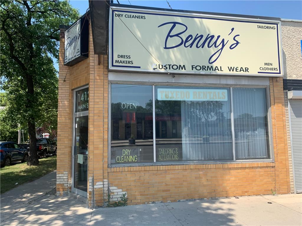 Main Photo: 1412 Main Street in Winnipeg: Industrial / Commercial / Investment for sale (4C)  : MLS®# 202116519