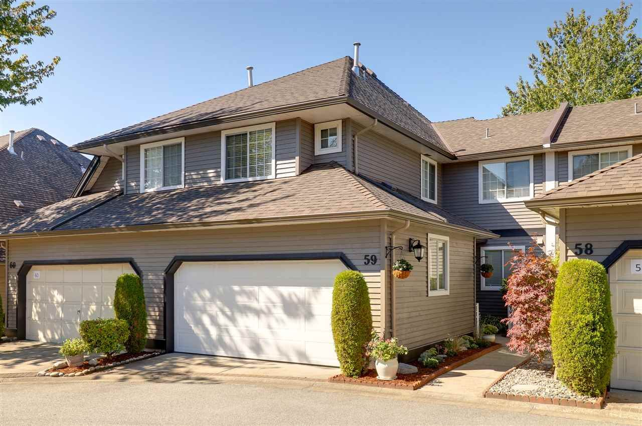 """Main Photo: 59 2615 FORTRESS Drive in Port Coquitlam: Citadel PQ Townhouse for sale in """"ORCHARD HILL"""" : MLS®# R2206034"""
