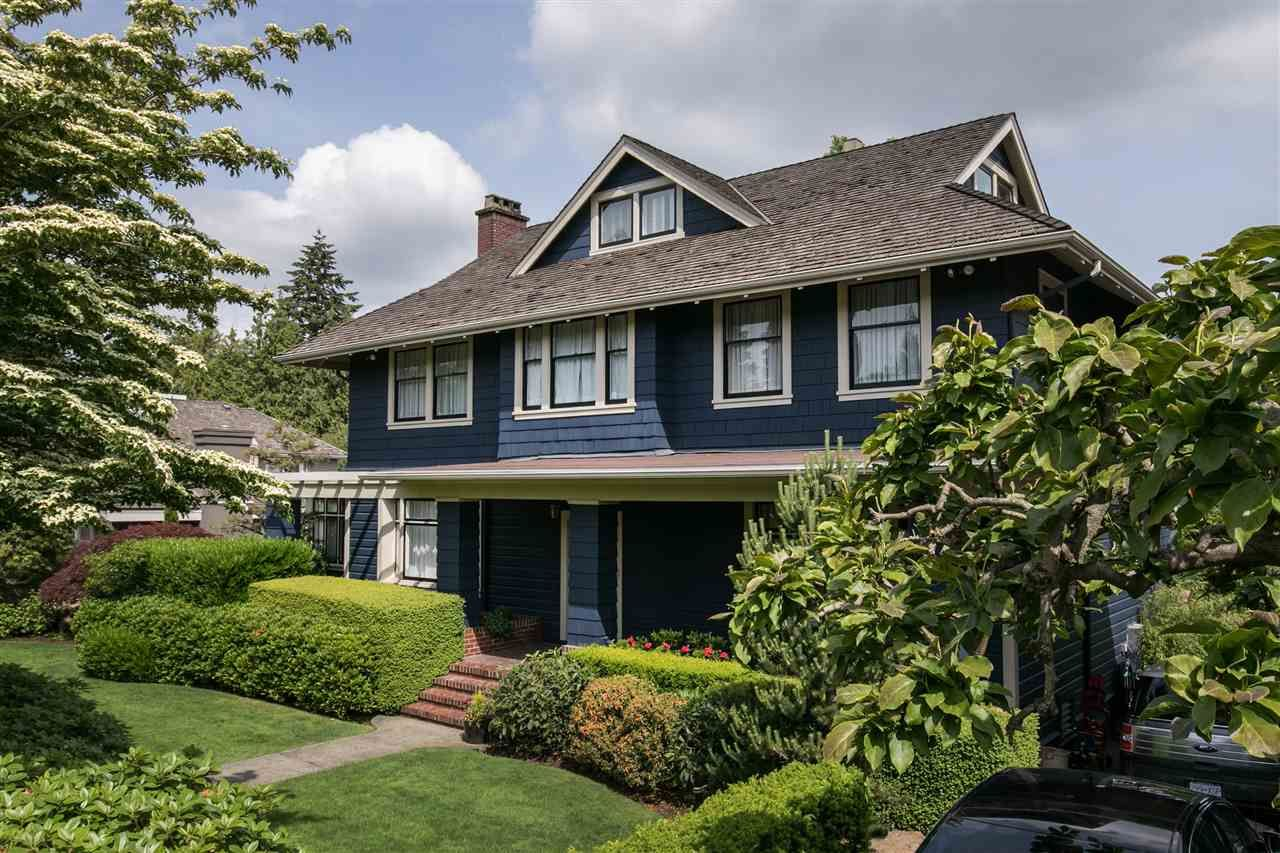 Main Photo: 1387 Minto Crescent in Vancouver: Shaughnessy House for sale (Vancouver West)